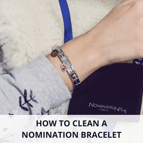 How to clean a Nomination bracelet with everyday ingredients